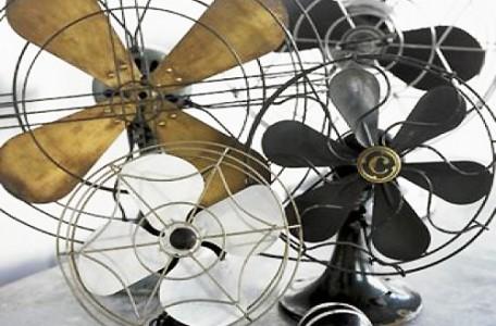 Schladiť sa dá pomocou ventilátorou