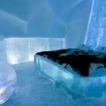 ľadová posteľ schladiť sa
