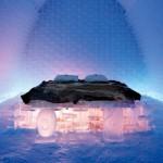 Schladiť sa na ľadovej posteli môže byť zážitok