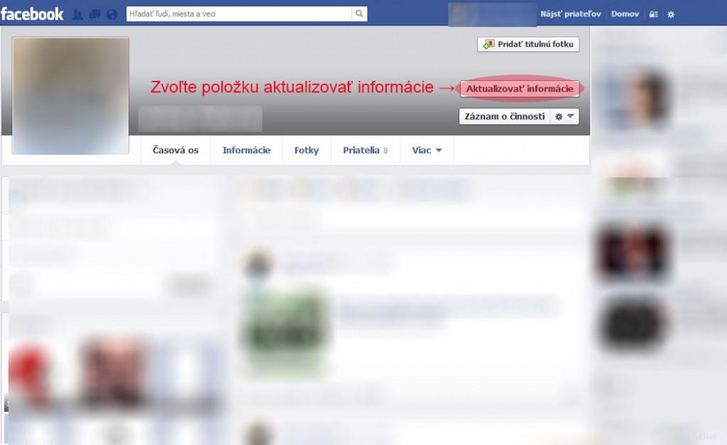 Facebook - ako skryť zoznam priateľov postup