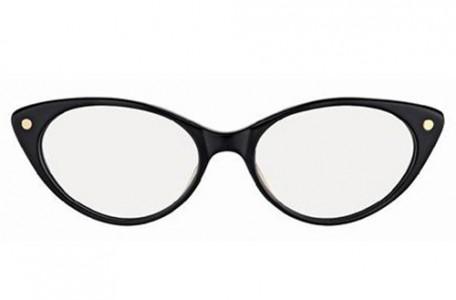 Okuliare na diamantový typ tváre: Rámy okluliarov v tvare mačacích očí