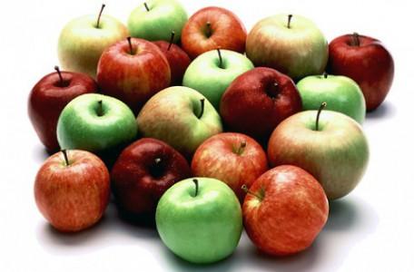skladovať jablká