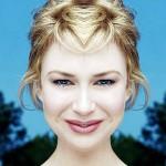 Renee Zellweger - trojuholníkový typ tváre