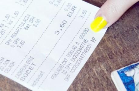 bločková lotéria - ako registrovať bločky