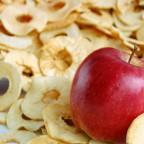 Recepty z jabĺk - sušené jablká