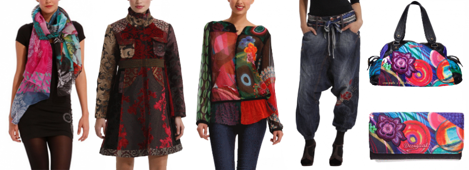 DESIGUAL na www.COLORFASHION.sk
