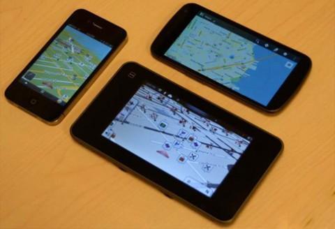 navigácia, gps, mobilná aplikácia do mobilu