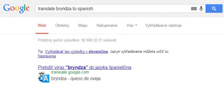 google preklad
