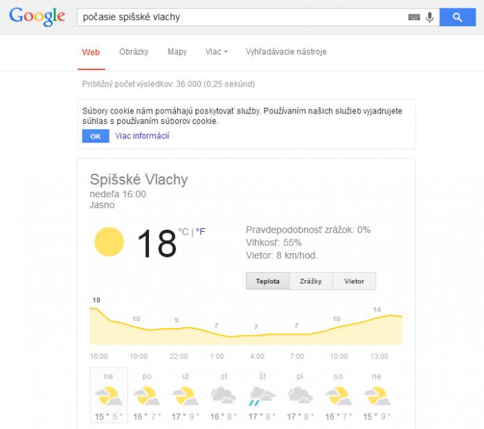 google počase