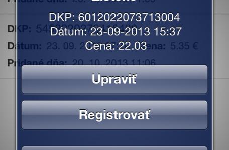 DKP, dátum, cena bločku na registrovanie národná bločková lotéria