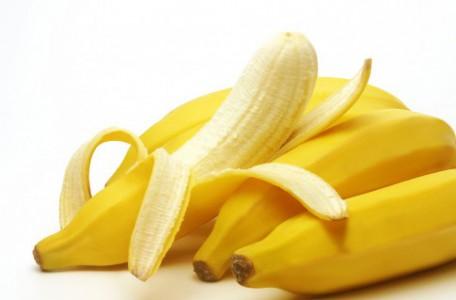 banána a banánová šupka