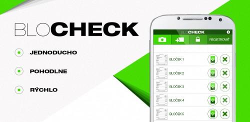 aplikácia Android bločková lotéria