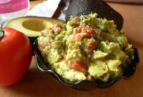 pomazánka guacamole