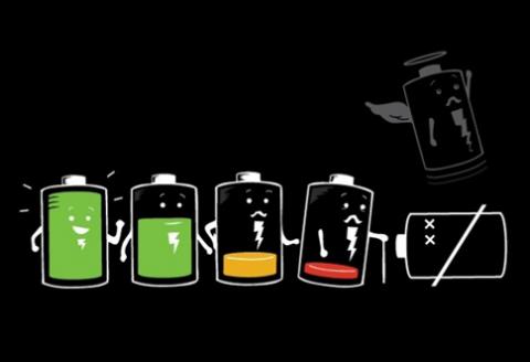 výdrž batérie mobilu smartphonu