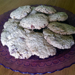 Cookies z ovsených vločiek – fotorecept