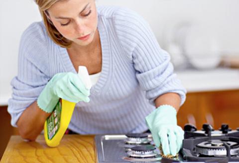 čistenie sporák rúra
