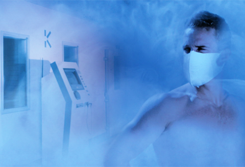 kryoterapia liečba chlad